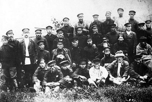 Крестьяне-революционеры из Самарской губернии.